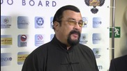 Russia: Steven Seagal touts Russian heritage at Moscow aikido festival