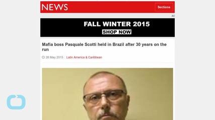 Runaway Mafia Boss Held in Brazil