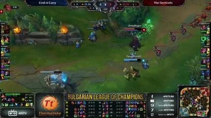 BLC #2 - Emil ni Carry vs The Sentinels