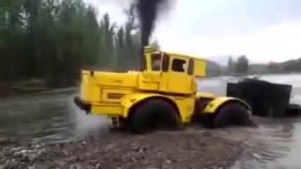 Тази руска техника е безсмъртна, а водачът е истински водител!
