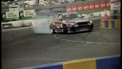 Skyline R34 Drifting