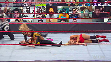 Nikki Cross vs. Lacey Evans vs. Peyton Royce vs. Lana – Fatal 4-Way Match: Raw, Oct. 26, 2020