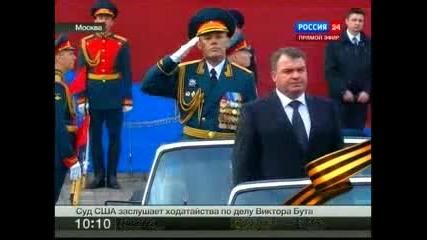 Парад Победы на Красной площади 9 мая 2011 года - 3 част