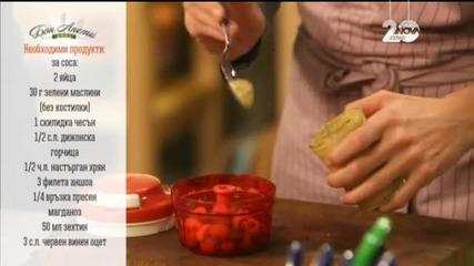 Борш с месо и пълнени картофи - Бон Апети (18.12.2014)