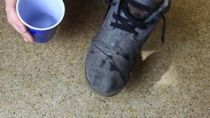 Как да направим обувките си непромокаеми !