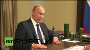 """Russia: Putin talks Navy's anti-IS airstrikes, Syria's """"healthy"""" opposition with DM Shoigu"""