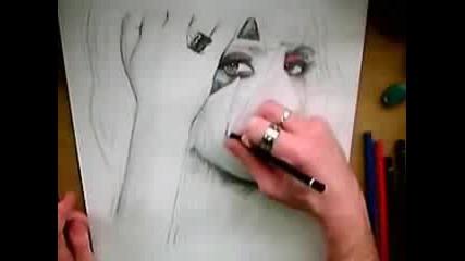 Супер як портрет на Лейди Гага