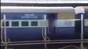 Измиване на влак в движение