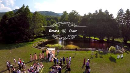 Красива българо - мексиканса сватба в Рибарица. Видеооператор Красимир Ламбов