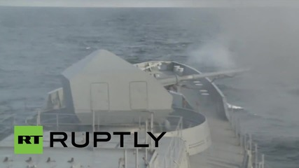 Russia: Latest addition to the Baltic Fleet stages missile test