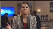 Demi Lovato Pepsi Preshow Interview (12_5_12)