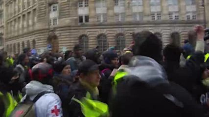 France: 'Yellow Vests' reject Macron's 'Great National Debate' amid Paris chaos