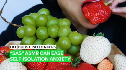 Life Boost Influencers: The ASMR-tist helping quarantined fans relax