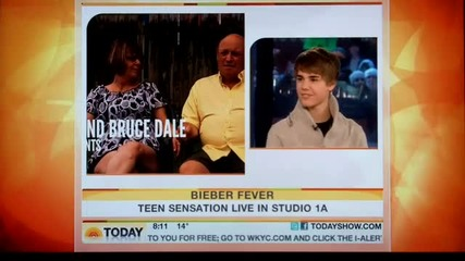 Justin Bieber on the Today Show 2011