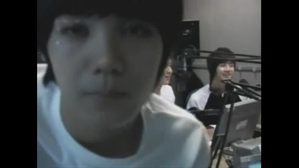 Mblaq Mir being cute!