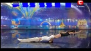Украйна Търси Талант - Duo Flame - First Auditions - Ukraine Got Talent 2013