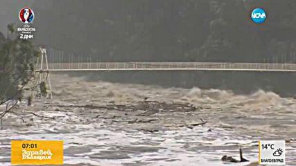 Големи наводнения заплашват исторически град в Австралия