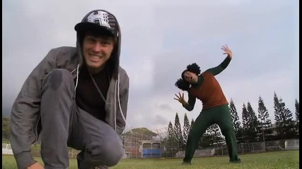 Sean Kingston & Justin Bieber - Eenie Meenie Parody Music Video