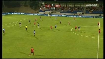 Лихтенщайн - Испания 0:4