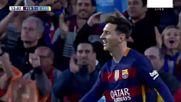 Суарес отново вкара 4 гола! Барселона 6:0 Спортинг Хихон (всички голове)