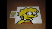 domino day 2010 the simpsons