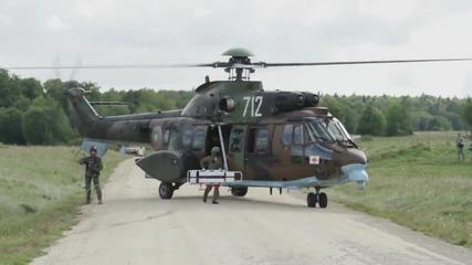 Съвместни Българо-американски военни учения 2014г