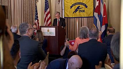 USA: Bolton announces fresh US sanctions against Cuba and Venezuela