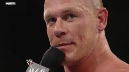 John Cena expresses his feelings about Edges retirement