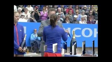 Тамира Пашек с първа титла на трева в кариерата
