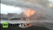 Yemen: Saudi-led airstrikes hit military plane at Sanaa International Airport