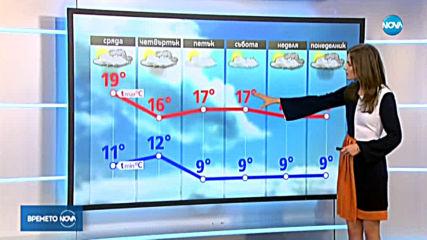 Прогноза за времето (13.11.2019 - обедна)