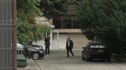 Сигнал за бомба опразни за няколко минути кабинетите в президентството