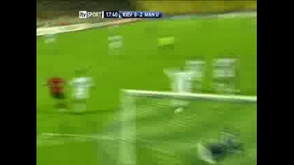 Д.Киев - Манчестър Юнайтед 0 - 2 ( Рууни )