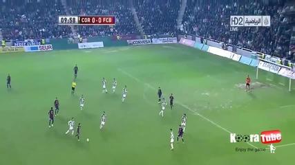 Всички голове в мача Barcelona Vs Cordoba [ 12.12.2012 ]