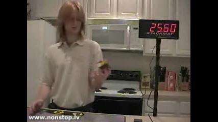 Рекордите На Гинес - Кубчето На Рубик