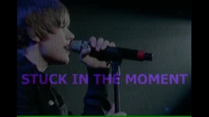 Stuck In The Moment in the style of Justin Bieber [karaokeinstrumental Lyrics]