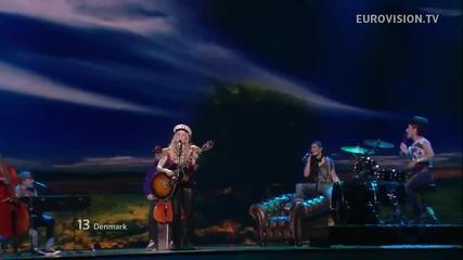 Евровизия 2012 - Дания | Soluna Samay - Should've Known Better [първи полуфинал]