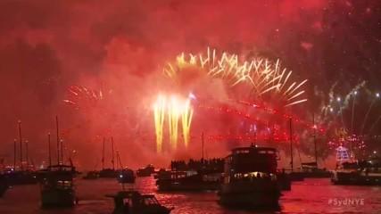 Нова година 2018 в Сидни, Австралия