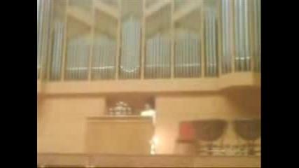 Бах - Фантазия До-минор (мое изпълнение от концерт в Пазарджик)