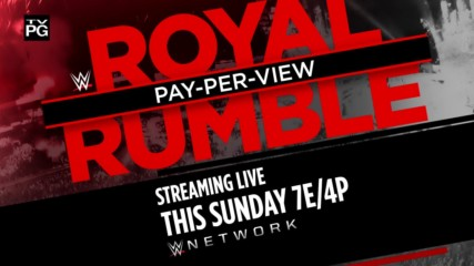 WWE Royal Rumble - Streaming live this Sunday