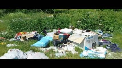 Незаконно сметище в област Кърджали, община Черноочене