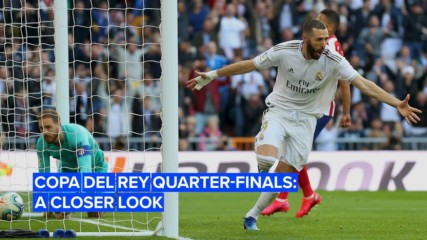 Everything you need to know about the 'Copa del Rey' quarter-finals