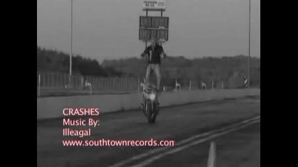 Неуспешни опити за stunt които завършват с Crash