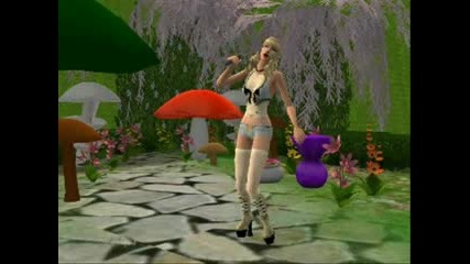Gwen Stefani - What Are You Waiting 4? Sims2