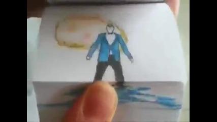 Нарисувана версия на Gangnam Style