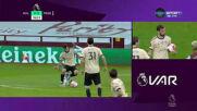 Астън Вила - Манчестър Юнайтед 0:2 /първо полувреме/