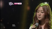 (hd) Soyou (sistar) - Because I Love You (special stage) ~ M Countdown (07.02.2013)