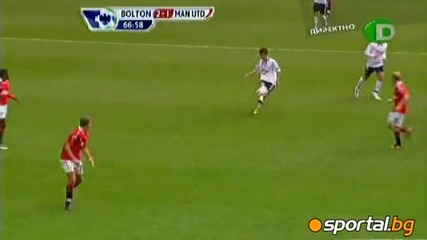 Bolton Wanderers 2 – 2 Manchester United all Goal 26/09/2010
