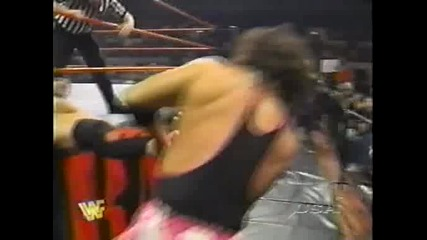 W W F R A W 27.10.97 - Shamrock vs Bret Hart + Dx backstage action - 1