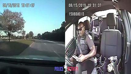 Ето защо дори полицаите не бива да пишат Sms зад волана